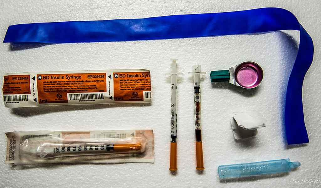Сколько наркотик держится в крови